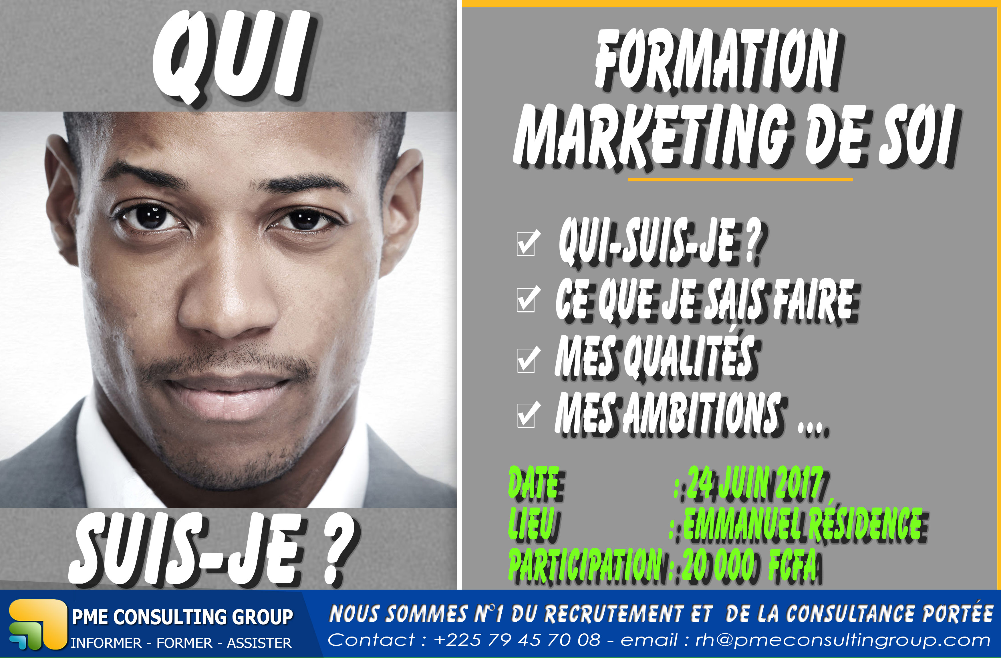 FAIRE LE MARKETING DE SOI